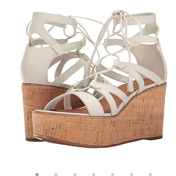 "a385a223edb Frye ""Heather "" Gladiator Wedge Sandals NWT"